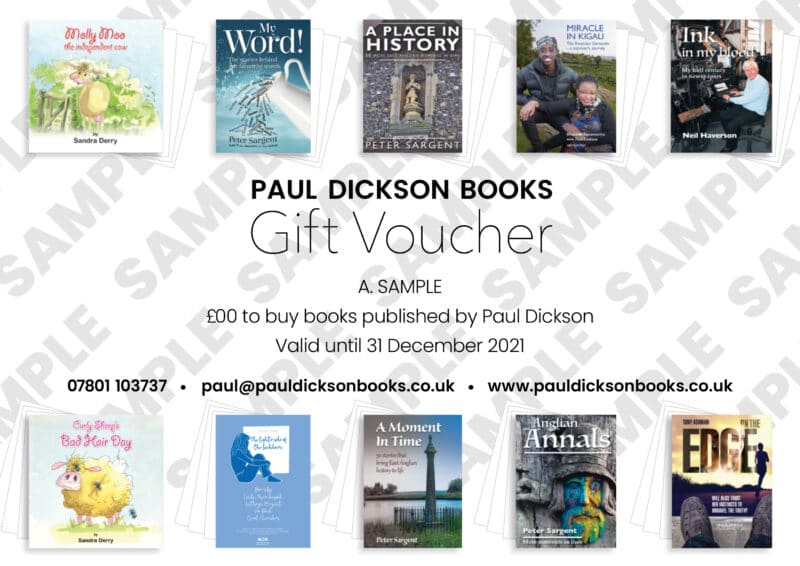Paul Dickson Books voucher